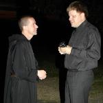 2008 Convivium (Králiky - Czech Republic) M. Klein with Dom Yves-Marie Leliévre