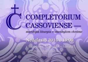 Completorium Cassoviense 37