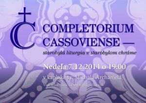 Completorium Cassoviense