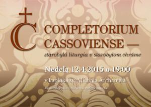 Completorium Cassoviense 49