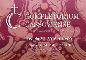 Completorium Cassoviense 58