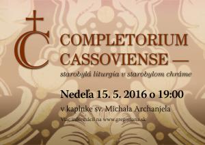 Completorium Cassoviense 62