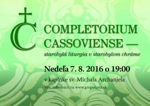 Completorium Cassoviense 65