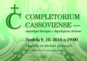 Completorium Cassoviense 67