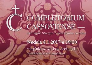 Completorium Cassoviense 70