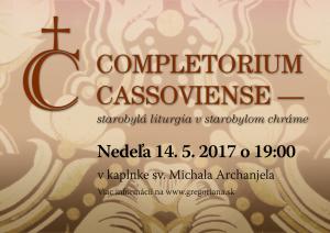 Completorium Cassoviense 74