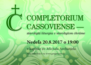 Completorium Cassoviense 77