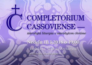 Completorium Cassoviense 84