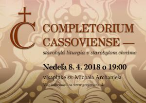 Completorium Cassoviense 85