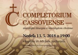 Completorium Cassoviense 86