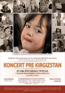 Koncert pre Kirgizstan